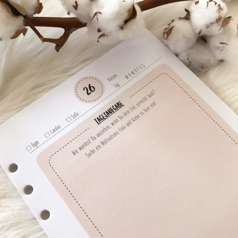 Abnehm Journal Diät Tagebuch Filofax Debora Groneberg